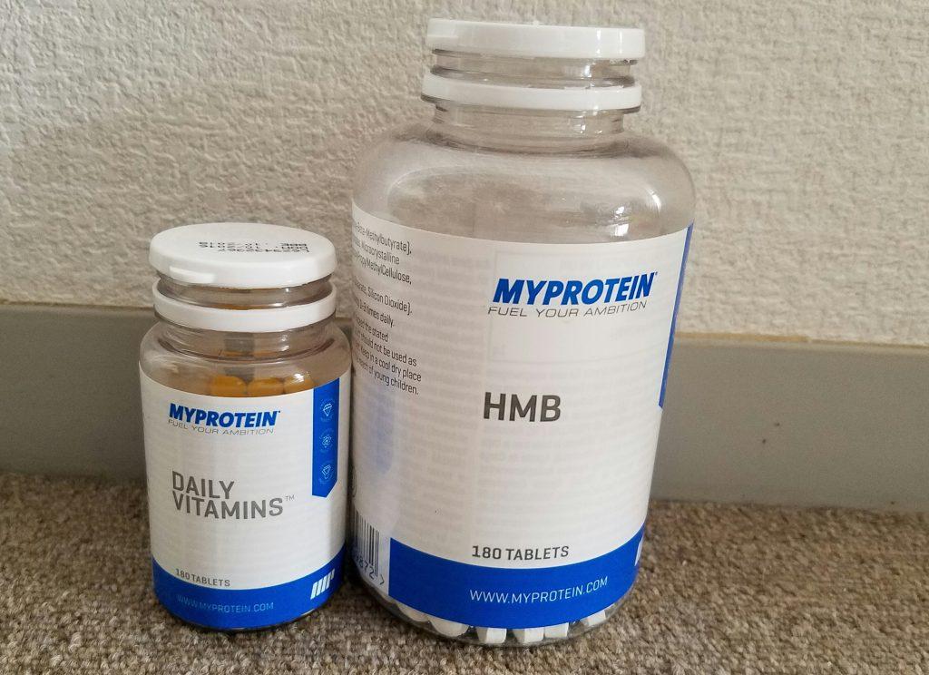Myperotein マルチビタミン HMB