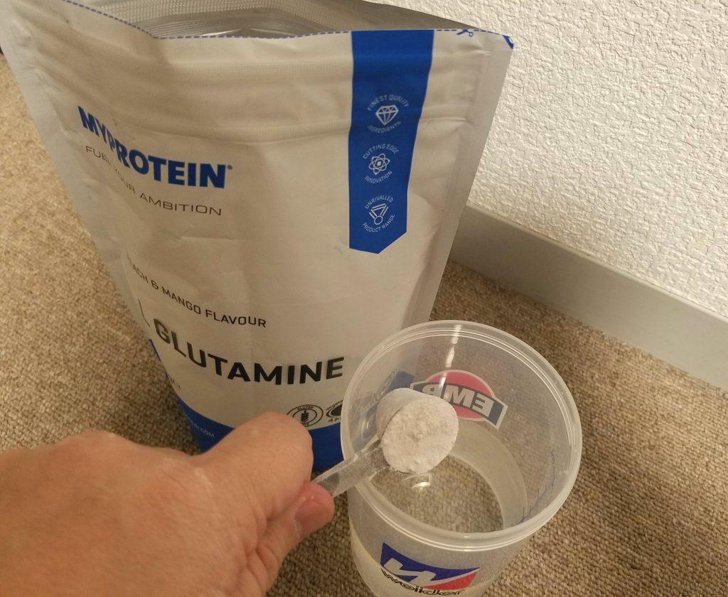 マイプロテイン L-グルタミン 飲み方