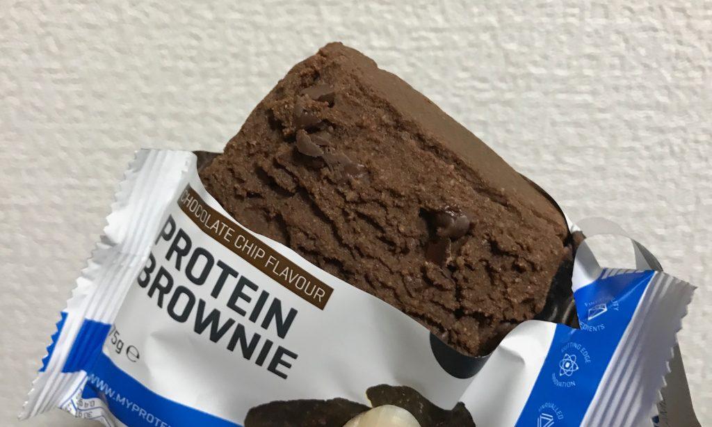 プロテインブラウニー チョコレートチップ
