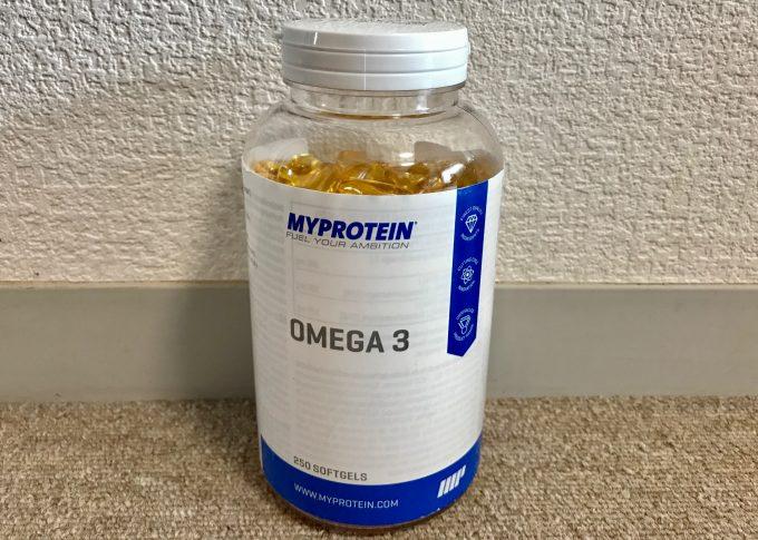 マイプロテイン omega3