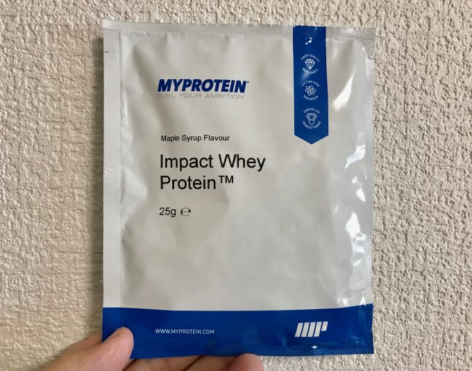 メープルシロップ味 マイプロテイン