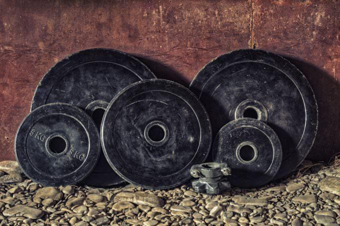ベントオーバーローイング 重量