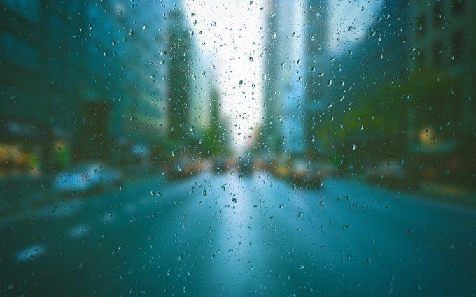 ランニング 雨
